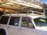 Full length roof rack for 1996 Nissan Patrol