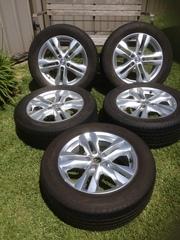 2011 Nissan Xtrail Alloy Rims