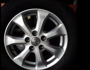 Set of 4 original Toyota Camry alloys only $650