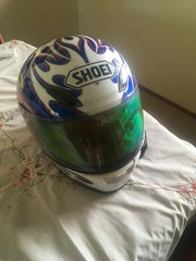 SHOEI XR1000 Picotte Blue Motorcycle Helmet
