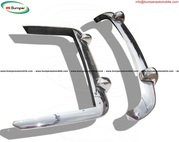 Lancia Flaminia bumpers (1958-1967) stainless steel