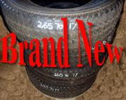 Bridgestone Tires.  4wd. Brand new.  Off a brand New Chevy.