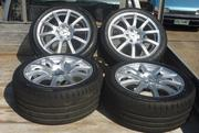 Falken Mags and wheels. Selling for $2500 Off a  C class 2000