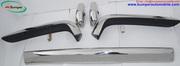 Rolls Royce Silver Shadow bumper in stainless steel (1965-1977)